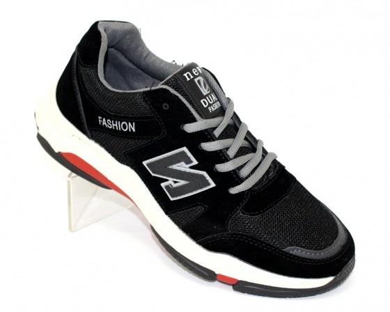 Купить подростковые чёрные кроссовки YB809-9 по смешным ценам Киев может с доставкой