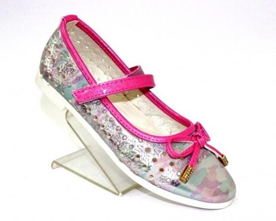Купить розовые туфли для девочки, туфли детские Киев, детская обувь Одесса, обувь Украина, магазин Туфелек обувь