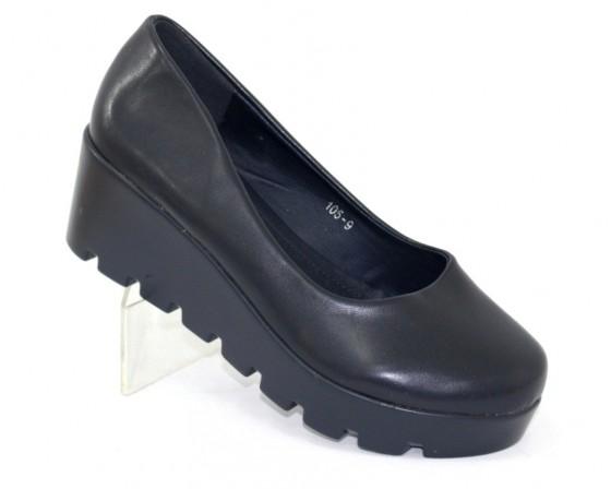 Модельные чёрные туфли дешево Киев, купить модельные женские туфли, туфли на шпильке