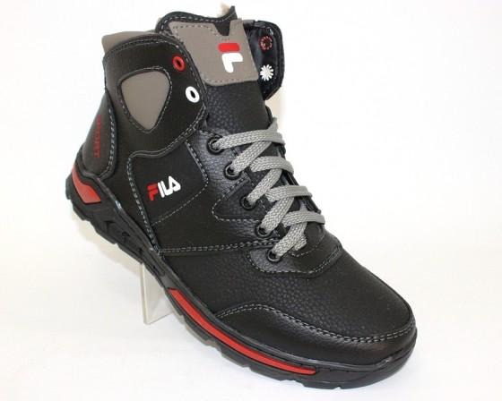 Тёплые мужские ботинки купить Киев, зимняя мужская обувь Украина, ботинки мужские купить онлайн