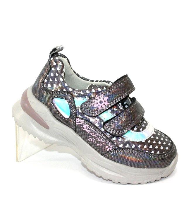 Кросівки для дівчаток на 2 двох липучках
