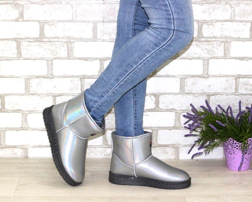 Угги женские дешево купить в Киеве, женская зимняя обувь Украина, тёплые сапожки угги 3