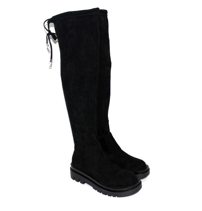 Купити осінні чоботи ABA 110054. Жіноче взуття - Туфельок