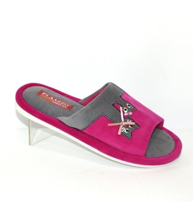 Купити жіночі PLAAZZO 8821-рожеві. Тапочки - Туфельок