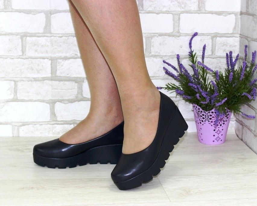 Модельные чёрные туфли дешево Киев, купить модельные женские туфли, туфли на шпильке 2