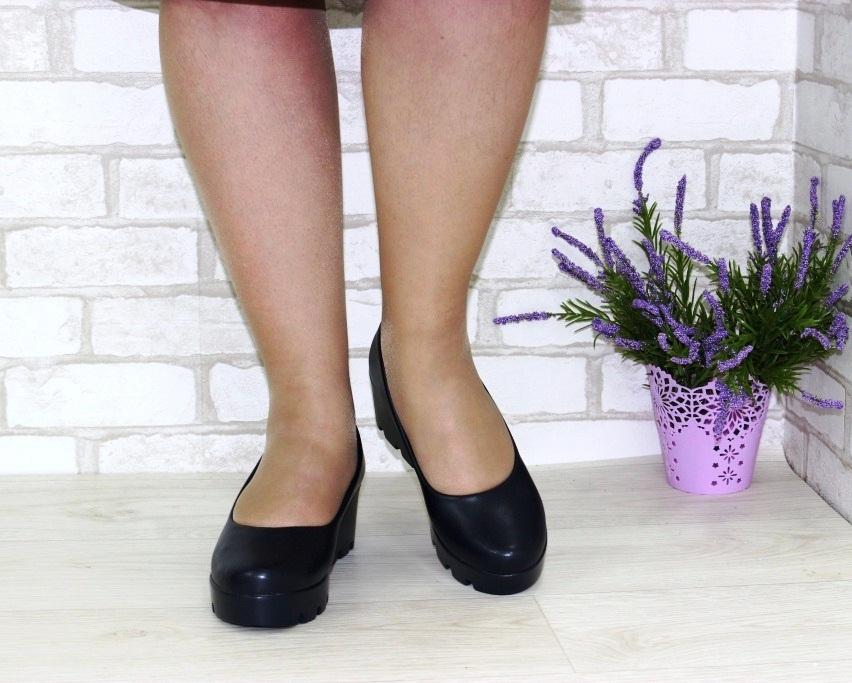 Модельные чёрные туфли дешево Киев, купить модельные женские туфли, туфли на шпильке 4