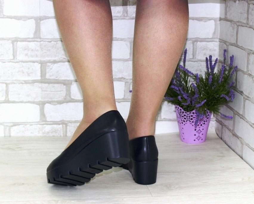 Модельные чёрные туфли дешево Киев, купить модельные женские туфли, туфли на шпильке 3