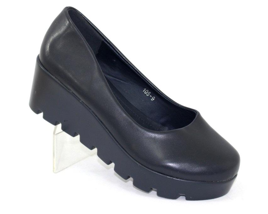 Модельные чёрные туфли дешево Киев, купить модельные женские туфли, туфли на шпильке 1