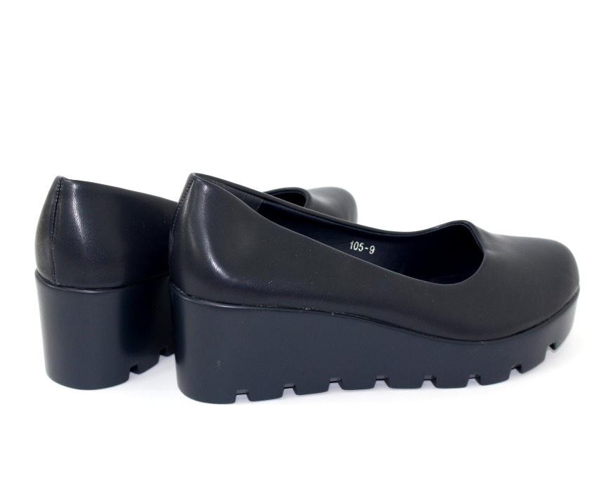 Модельные чёрные туфли дешево Киев, купить модельные женские туфли, туфли на шпильке 7