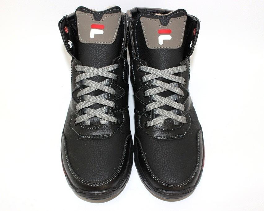 Тёплые мужские ботинки купить Киев, зимняя мужская обувь Украина, ботинки мужские купить онлайн 6