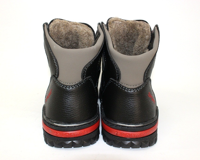 Тёплые мужские ботинки купить Киев, зимняя мужская обувь Украина, ботинки мужские купить онлайн 8