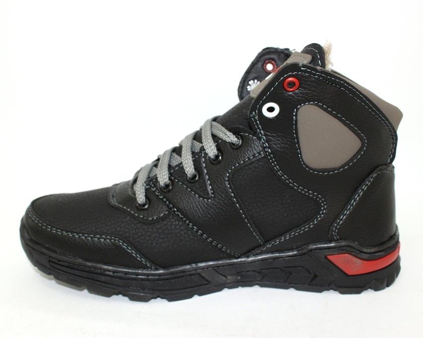 Тёплые мужские ботинки купить Киев, зимняя мужская обувь Украина, ботинки мужские купить онлайн 7