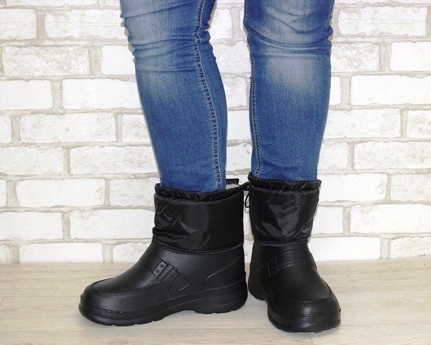 Купить мужские ботинки, зимние сапоги из пены 4