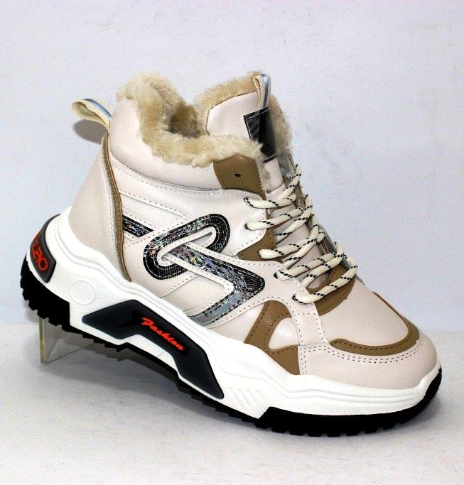 Модная женская обувь, комфортные ботинки на низком каблуке 3