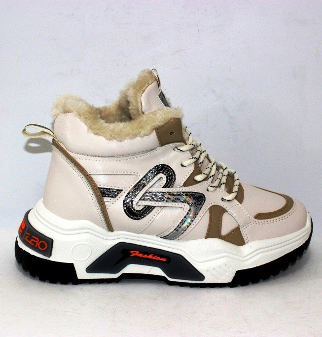 Модная женская обувь, комфортные ботинки на низком каблуке 5