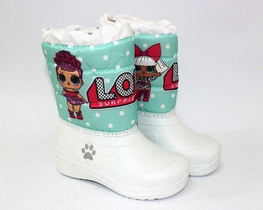 Ботинки термо зимние для девочки купить в Киеве, детская зимняя обувь Украина 1