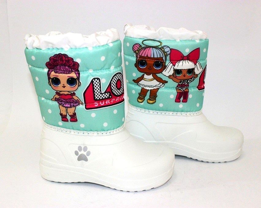Ботинки термо зимние для девочки купить в Киеве, детская зимняя обувь Украина 2