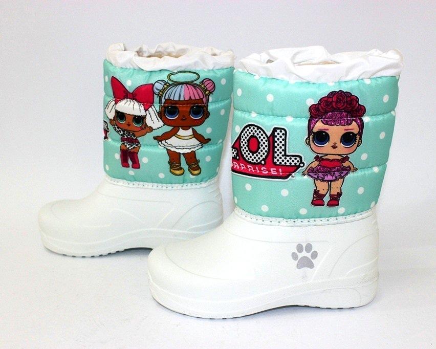 Ботинки термо зимние для девочки купить в Киеве, детская зимняя обувь Украина 4