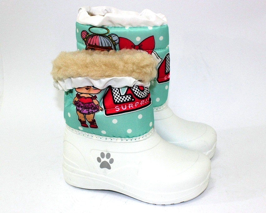 Ботинки термо зимние для девочки купить в Киеве, детская зимняя обувь Украина 5