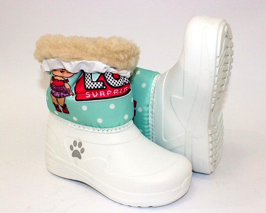 Ботинки термо зимние для девочки купить в Киеве, детская зимняя обувь Украина 3