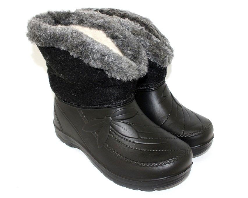 Купить женские зимние сапоги из пены, галоши Прогресс Украина 1