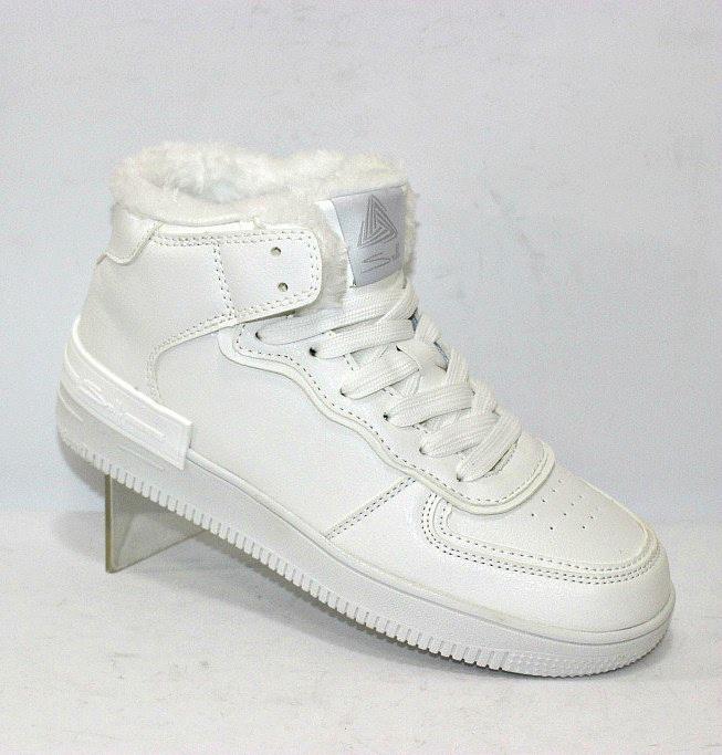 Білі кросівки хайтопи жіночі на зиму