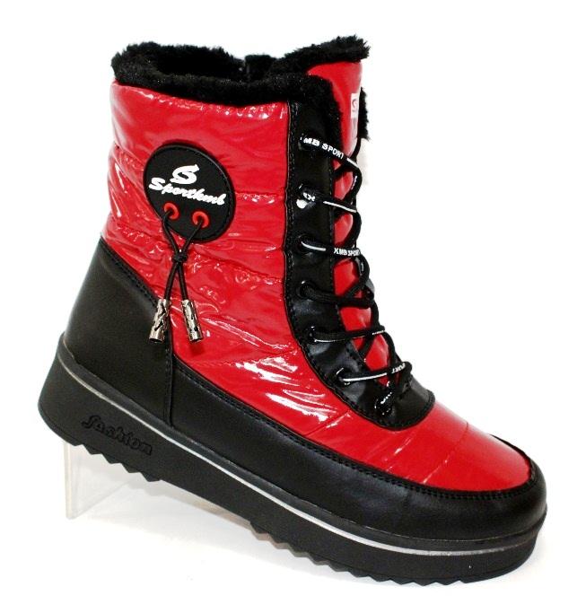 Стильные ботинки дутики для женщин фирмы KMB